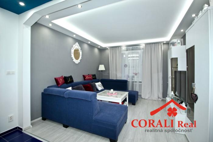 Reality 3 izbový byt, Bratislava, Ružinov - CORALI Real