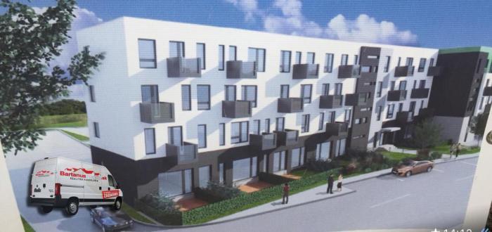 Reality Na predaj novostavba 2 izbový byt 48 m2, predzahrádka 25 m2 a parkovacie státie, Ilava.