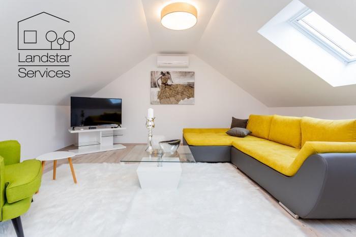Reality Na prenájom: krásny, úplne nový a moderne zariadený 3 izbový byt v rodinnom dome s krásne upr
