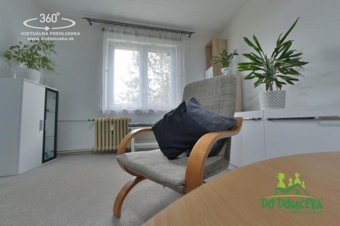 Reality REZERVOVANÉ 2-izbový byt na ulici Družby, Banská Bystrica