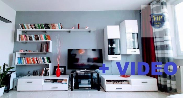 Reality Vip Video. Byt 3+1, 73m2 s loggiou, prerobený, Banská Bystrica - Sásová