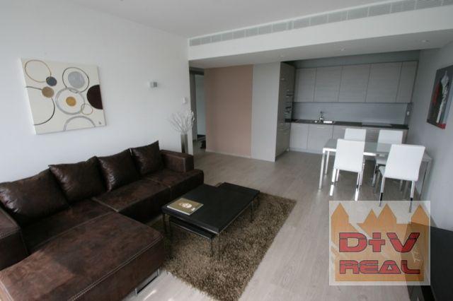 Reality D+V real ponúka na prenájom: 2 izbový byt, Pribinova ulica, Eurovea, Bratislava I, Staré Mesto,
