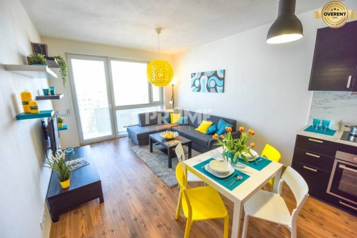 Reality Pekný 2i byt, novostavba, klíma, parking, Mlynské Nivy, NUPPU