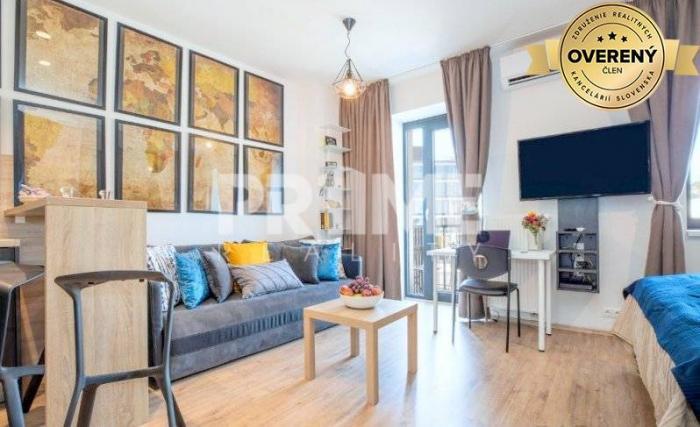 Reality Luxusný 1 byt, novostavba, balkón, klíma,centrum,Modrá Guľa,Suché Mýto