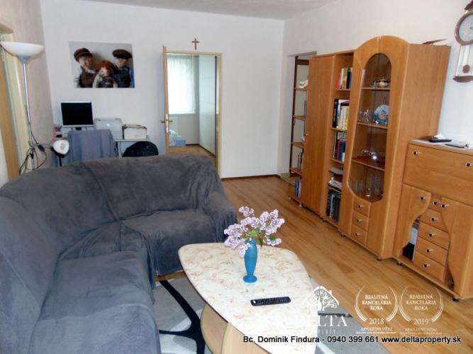 Reality DELTA - Slnečný 4-izbový byt na predaj Poprad - Západ