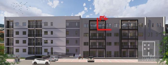 Reality ZAZMLUVNENÝ 2-izb. apartmánový byt F 4 Nové bývanie Martin - Priekopa