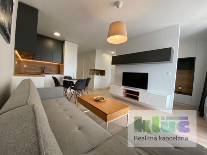 Reality RK KLÚČ - 1,5 izbový byt s balkónom v novostavbe Arboria