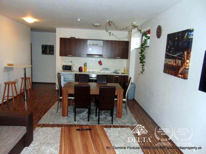 Reality DELTA - Štýlový 3-izbový apartmán s dvomi terasami a s nádherným výhľadom na predaj Veľká