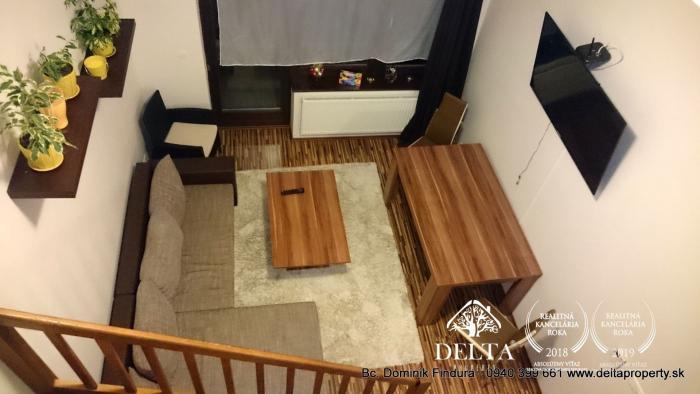 Reality DELTA - Pekný 4-izbový apartmán s balkónom na predaj Veľká Lomnica
