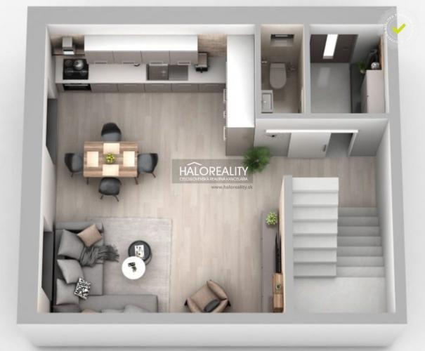 Reality Predaj, trojizbový byt Lehnice - NOVOSTAVBA