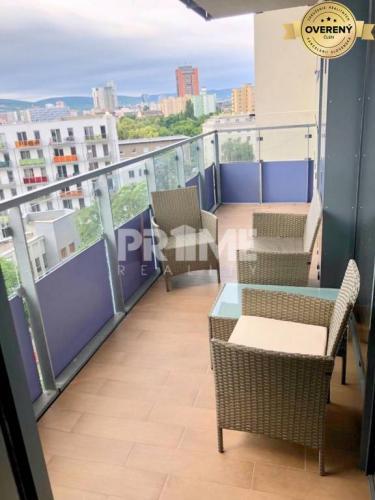 Reality Pekný 3i byt, novostavba, loggia, parking, CityPark Ružinov