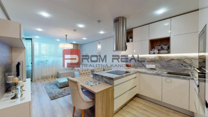 Reality Krásny nový 2 izbový byt v Malých Krasňanoch s predzáhradou