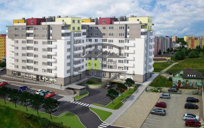 Reality Bývajte v novom - URBAN-PARK v Trenčíne - 2 izbový / B50