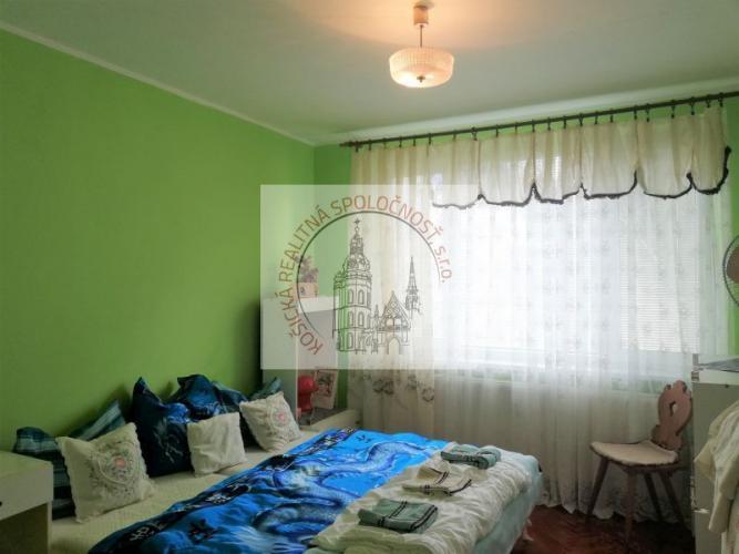 Reality 3 izbový byt Palariková ul., Košice - Juh (91/20)