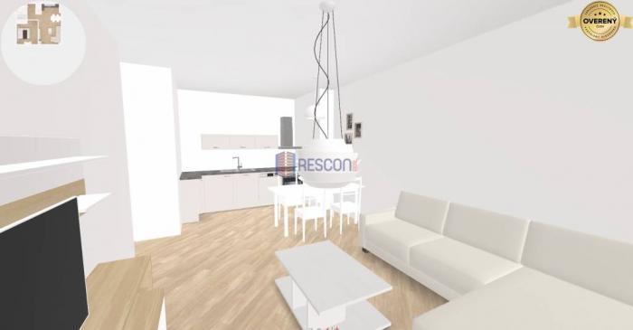 Reality 2-izb. byt v pôvod. stave, pekný výhľad, tehla, vyprataný. Pekná cesta