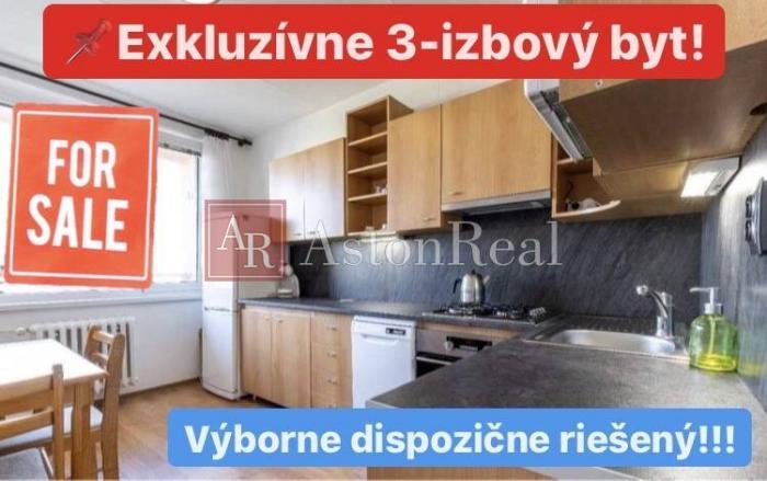 Reality NA PREDAJ: 3-izbový byt po rekonštrukcii v tichej kľudnej lokalite