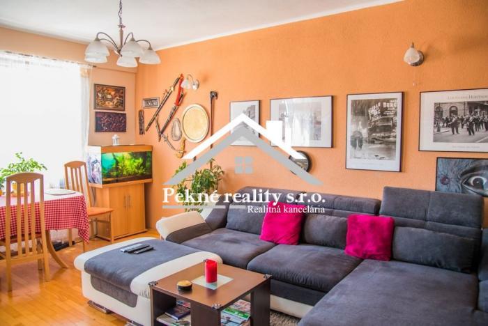 Reality Predaj 3 izbového bytu s balkónom v centre Zvolena