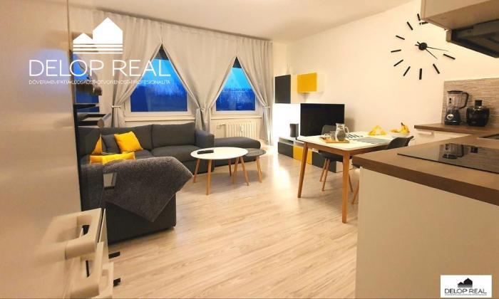 Reality Kompletne zrekonštruovaný 3 izbový byt na začiatku Petržalky pri Chorvátskom ramene
