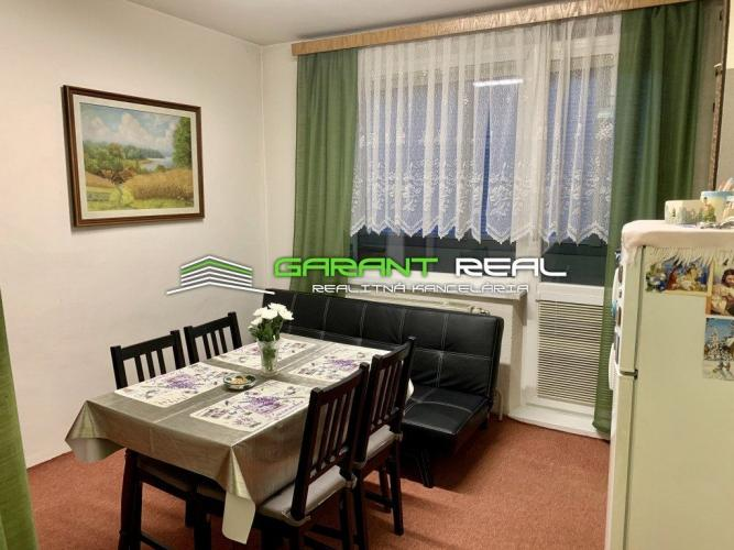 Reality GARANT REAL predaj 3-izbový byt 72 m2, šatník, loggia, Prešov, Sídlisko III, A.Prídavku