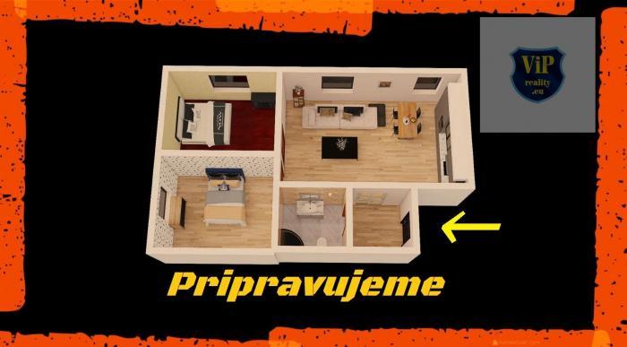 Reality ViP video 3D. Byt 3+kk, 71 m2, tehlový, kompletná rekonštrukcia, zariadený - Banská Bystrica -
