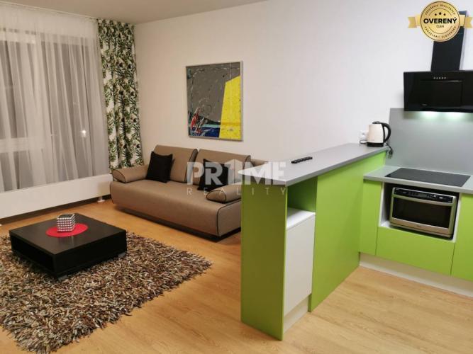Reality Nový 1i byt, zariadený, parking, Nuppu, Ružinov