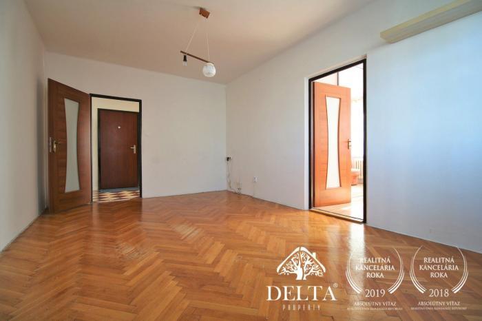 Reality DELTA | 3 izbový byt s garážou, Pred poľom, Trenčín, 74m2