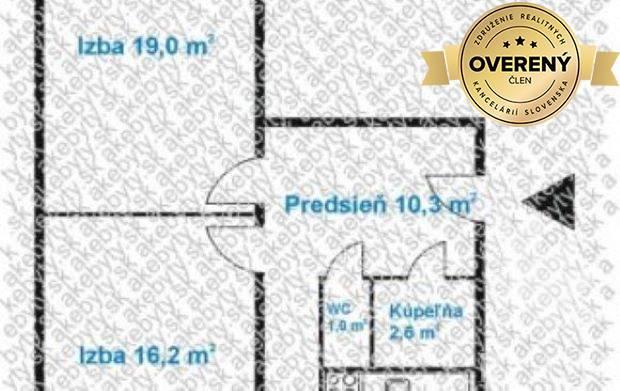 Reality Predaj 2i. byt + 2 loggia, Bratislava IV, Dúbravka, Drobného ul.