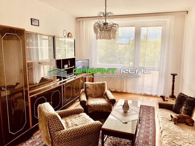 Reality GARANT REAL - predaj 2-izbový byt 60 m2 s loggiou 3 m2, Prešov, Sídlisko III, Mukačevská ul.