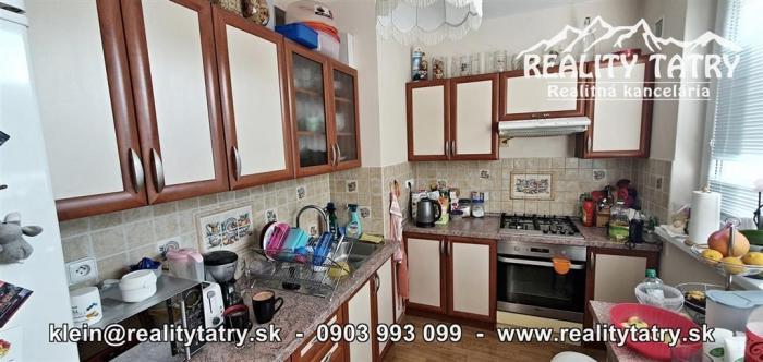 Reality Byt 3 izbový 65 m2 + 4 m2 loggia v Poprade, ul. L. Svobodu blízko centra - ODPORÚČAME !!!