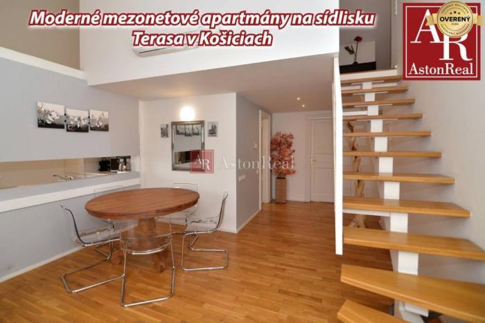 Reality Moderné mezonetové apartmány na sídlisku Terasa ( Košice )
