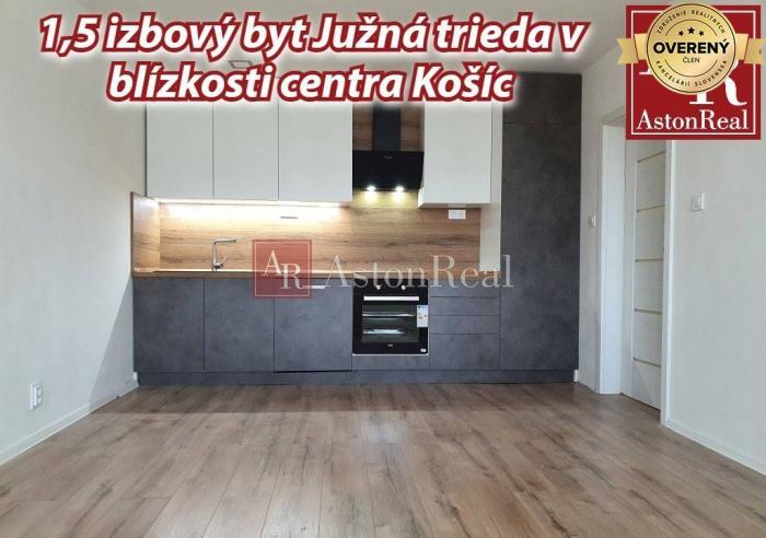 Reality 1,5 izbový byt v blízkosti centra Južná trieda ( Košice )
