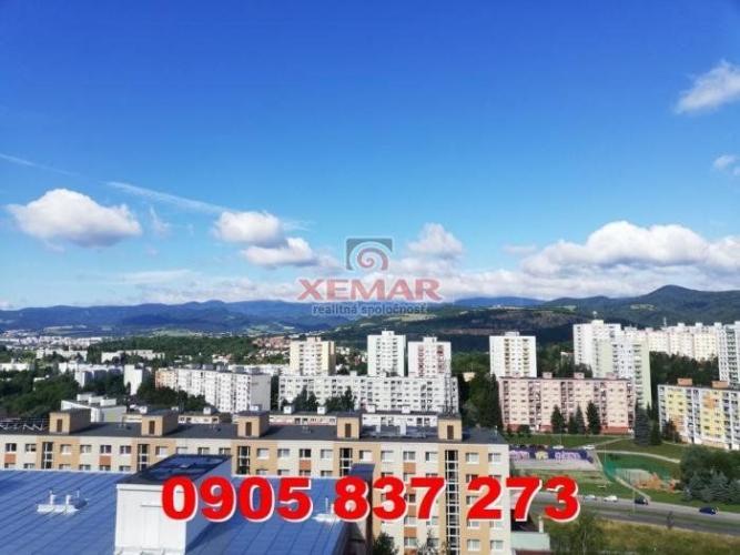 Reality Predaj 3 iz. byt s krásnym výhľadom v Banskej Bystrici, mestská časť Sásová