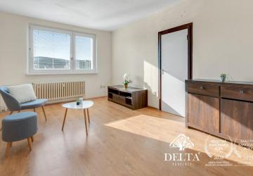 Reality REZERVOVANÉ - DELTA | 3 izbový byt s balkónom a pekným výhľadom, Dúbravka - Bratislava