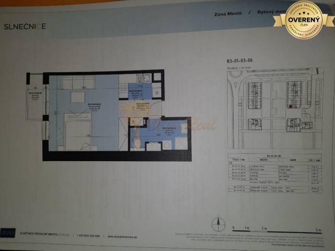 Reality 1-izb. byt, Zuzany Chalupovej, Petržalka, novostavba, 2.p./7