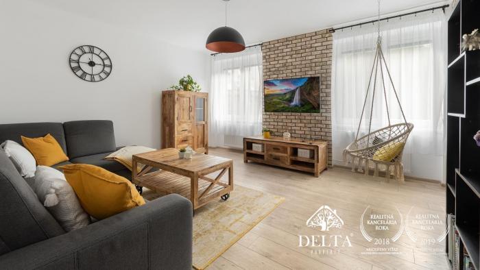 Reality DELTA | Zariadený 2 izbový byt, Miletičova, Bratislava-Ružinov, 68m2