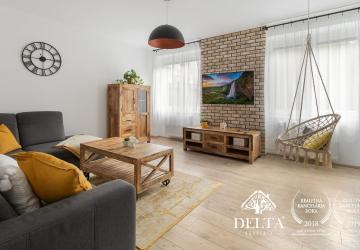 Reality DELTA   Zariadený 2 izbový byt, Miletičova, Bratislava-Ružinov, 68m2