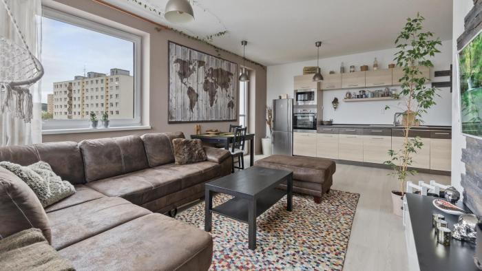 Reality Príjemný 2 izbový byt v novostavbe na ulici Martina Granca, Dúbravka