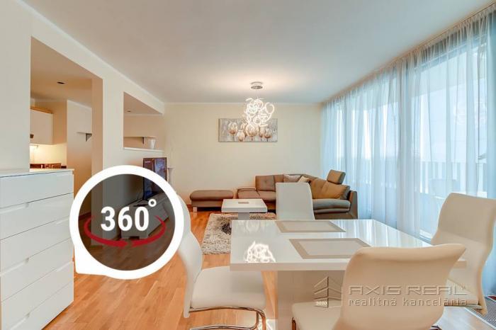 Reality AXIS REAL:: 2-izb. byt v RIVER PARKU, BA I.Staré Mesto, Dvořákovo nábr