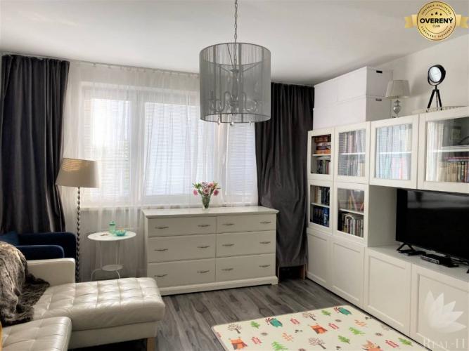 Reality Vyhľadávaná dispozícia 2 izbový byt Romanova ulica BA Petržalka