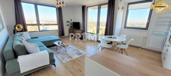 Reality Luxusný 3i byt, NOVOSTAVBA, 2 X BALKÓN, PARKING, CityPark Ružinov