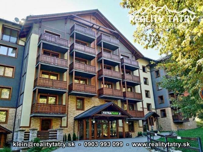 Reality Apartmán 1 izbový s balkónom vo Fatrapark 2 - Hrabovská dolina, Ružomberok -  ODPORÚČAME !!!