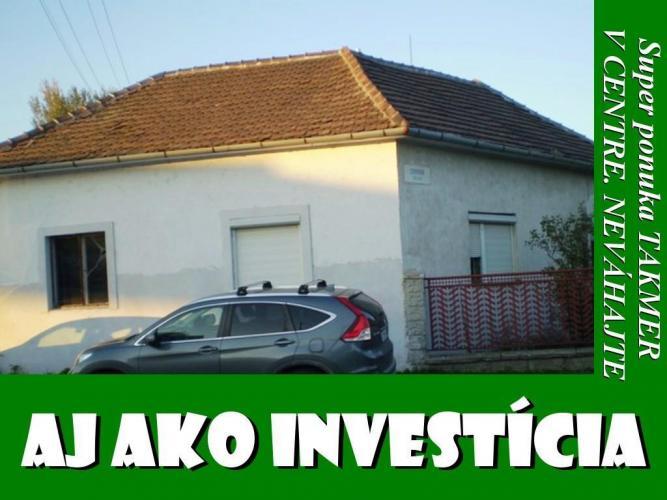 Reality BVT Real: Na predaj zachovalý RD výborná lokalita v Trnave, vhodný na bývanie, alebo podnikanie