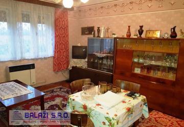 Reality JACOVCE - 3 izb. dom, pozemok 1607 m2,okr. Topoľčany