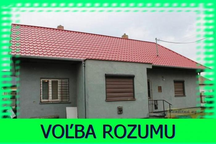 Reality Hľadáte čiastočne zrekonštruovaný 2-izb. RD v Jelke s ideálnym pozemkom (800 m2) za prijateľ