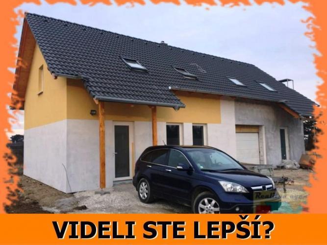 Reality Ponúkame úplne nový 4-izb. RD v obci Veľký Biel - už od 83 900 EUR! VOLAJTE BVT REAL!
