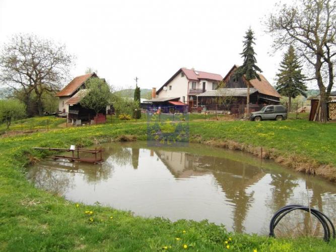 Reality Rodinný dom na samote s ovocným sadom a rybníkom, Horné Hámre