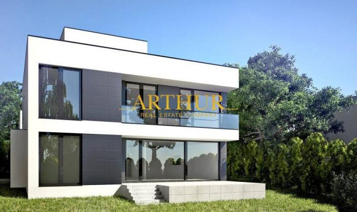 Reality ARTHUR - nový rozostavaný 7 izbový rodinný dom s krásnym výhľadom na Bratislavu, Chrasťová