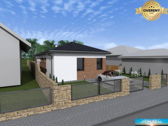 Reality Novostavba 4-izbového rod. domu na predaj, TT, Modranka, 193.000,- €