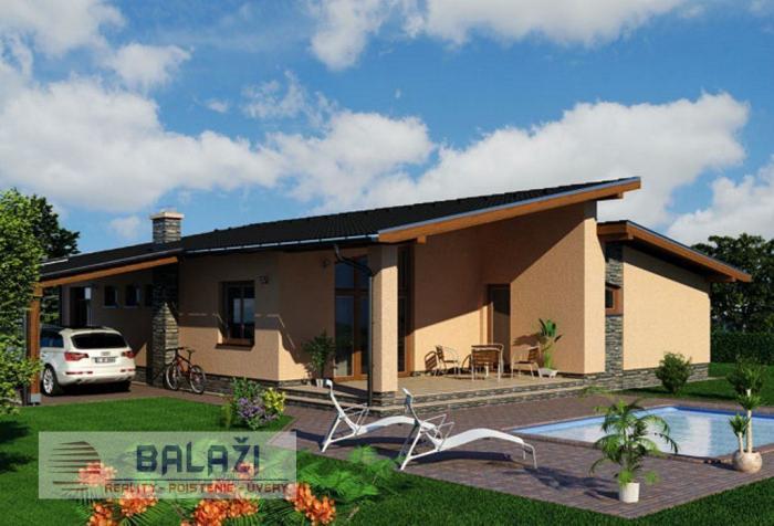 Reality NÍZKOENERGETICKÝ 4 izbový dom, užitková plocha 120m2, zastavana 168 m2, Žarnovica