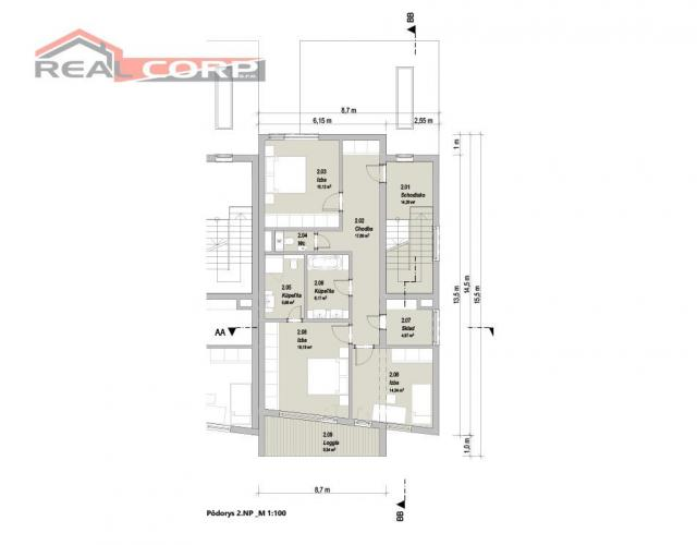 Reality NOVOSTAVBA radový dom, Rajecké Teplice, 163,29 m2, Cena: 238.000 €